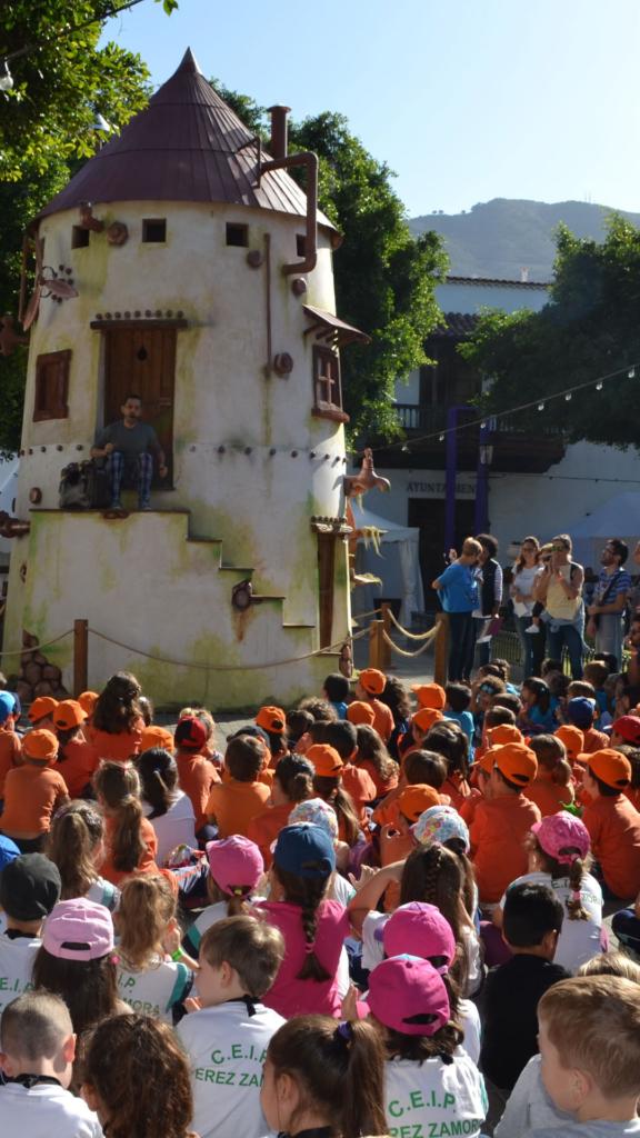 Visitas Escolares cuentos los silos